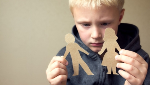My child started asking questions about divorce - what can I do