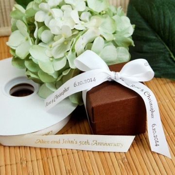 The story of eco-friendly wedding ribbons